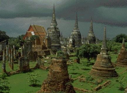 Actualmente la ciudad de Ayutthaya es uno de los principales lugares turísticos de Tailandia.