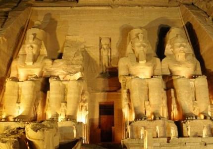 Durante el reinado de Ramses II se realizaron más construcciones que en ningun otro