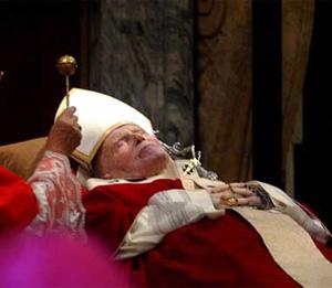 La sucesión papál es algo que ha prevalecido y se ha consolidado.