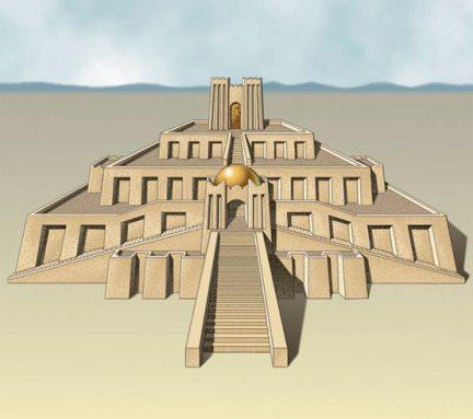 Imposible imaginar la creación de los Zigurats mesopotámicos sin la ayuda de la geometría