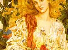 Las diosas Juno y Luna