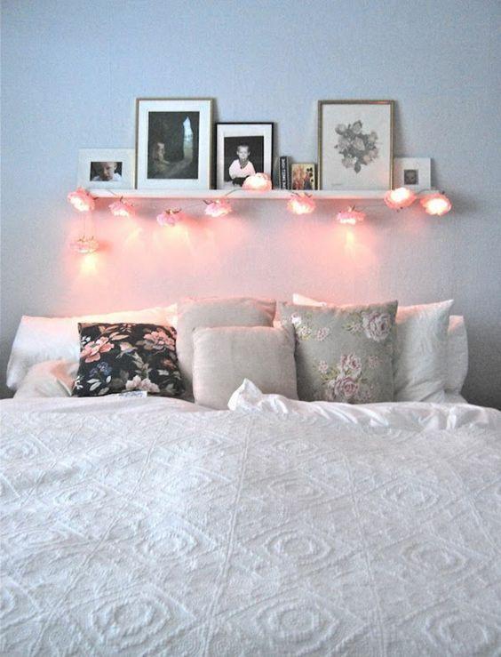étagère au dessus du lit