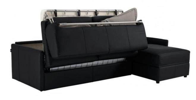 Canapé convertible avec un vrai matelas