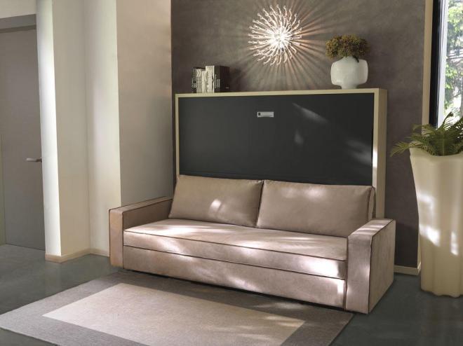 Canapé lit escamotable
