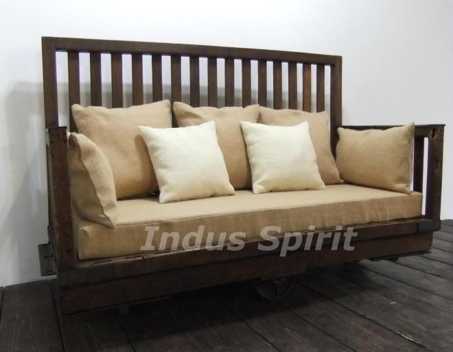 Canapé style industriel