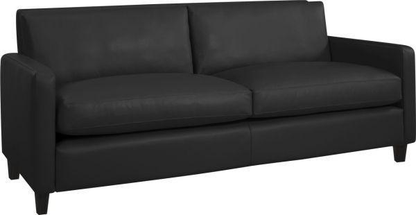 Canapé trois places cuir