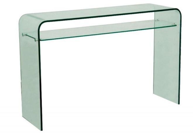 Console verre habitat