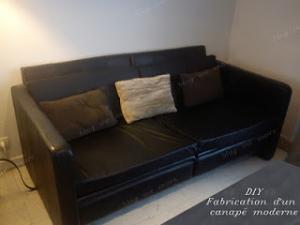 Construire son canapé