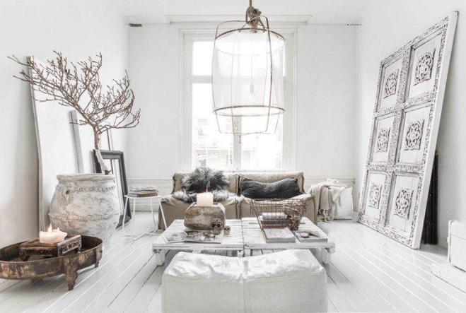 Deco bois et blanc