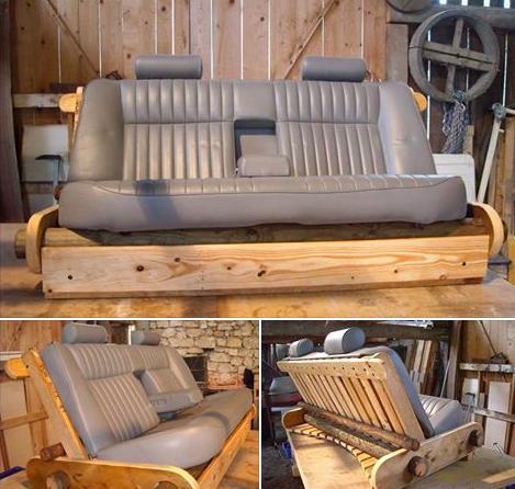 Fabriquer canapé