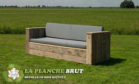 Fabriquer un canapé en bois