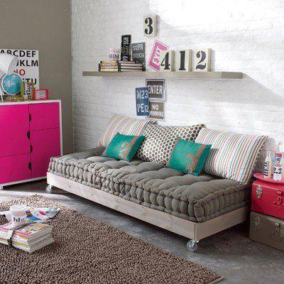 Faire un canapé avec un lit