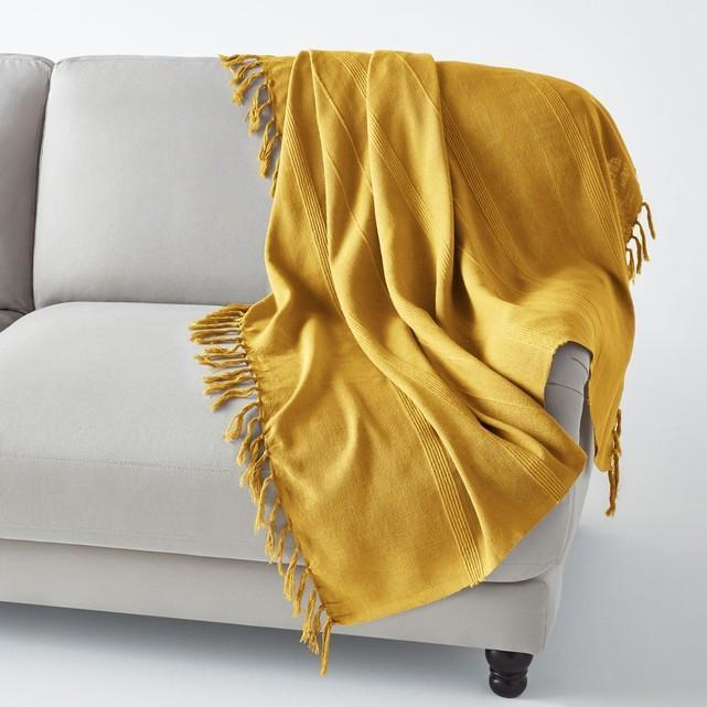 La redoute jeté de canapé
