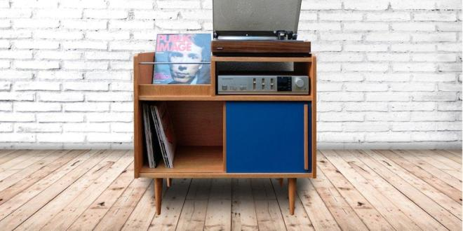Meuble hifi scandinave