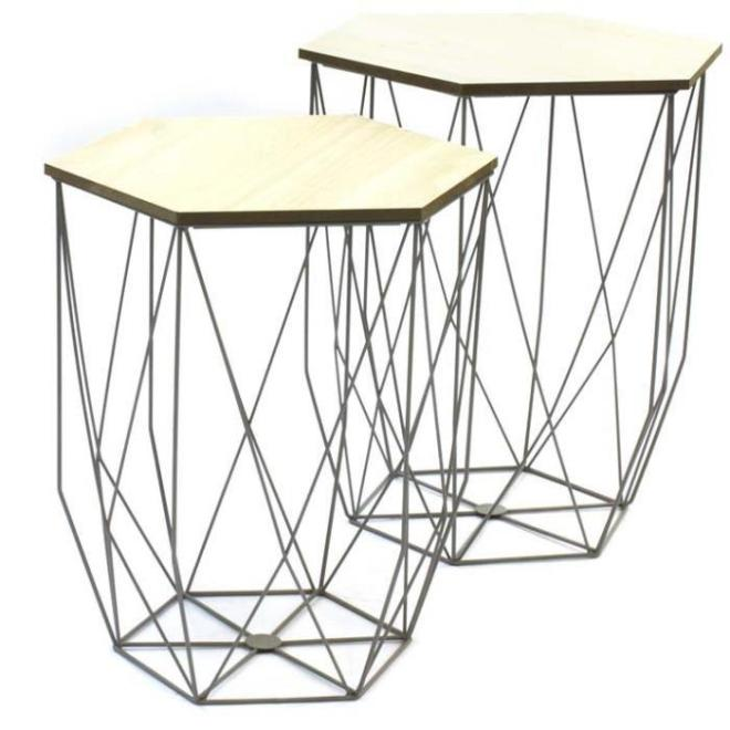 Table basse filaire