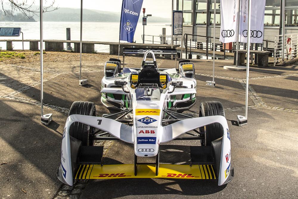 Zürich ist parat für die Formel E. (Audi)
