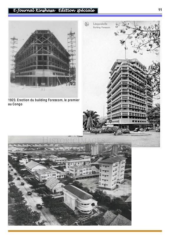 Léopoldville de 1923 à 1960 11