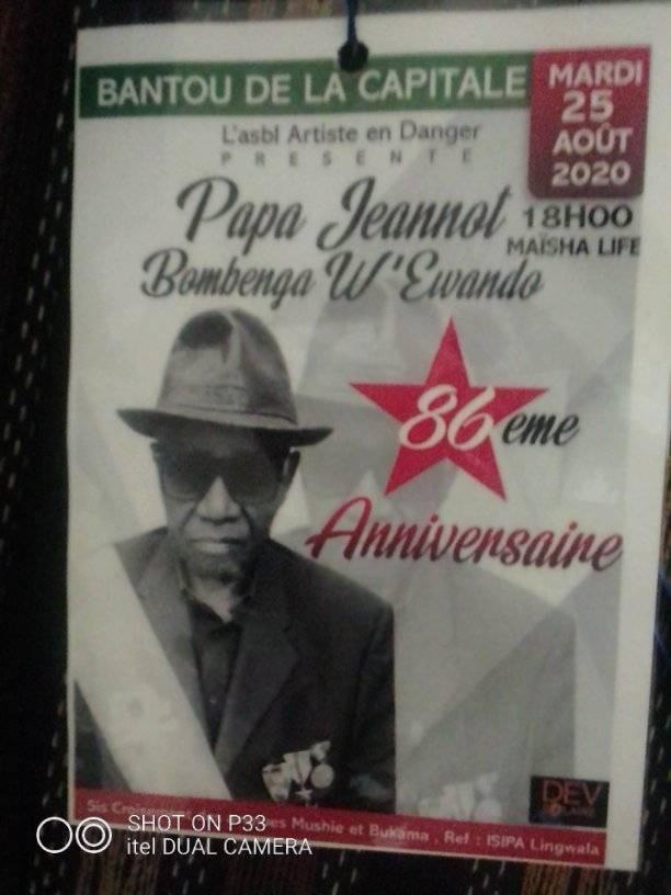 Jeannot Bombenga fêté avec fastes 2