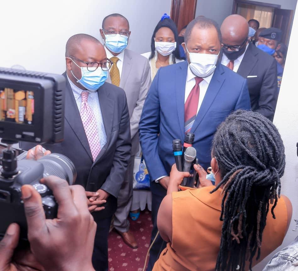 RDC: Le fichier général de la population au cœur des échanges entre le DG de l'ONIP, Richard Ilunga et une délégation de la présidence de la République 2