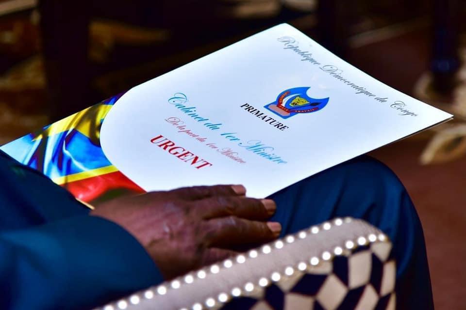 Le Premier Ministre IIlunkamba vient de remettre la démission du gouvernement au Président de la République 1