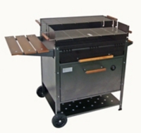 barbecue charbon de bois etna maison et