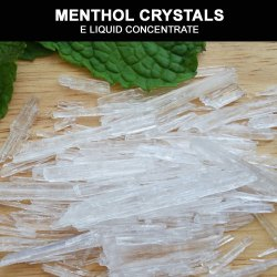 Menthol Crystals | E Liquid Concentrates | South Africa