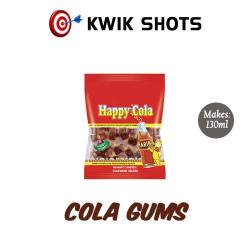 Kwik Shots - Cola-Gums- One shot Flavour Concentrates   South Africa