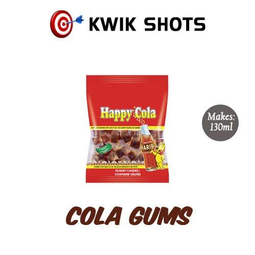 Kwik Shots - Cola-Gums- One shot Flavour Concentrates | South Africa