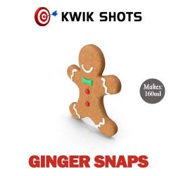 Kwik Shots - Ginger-Snaps- One shot Flavour Concentrates | South Africa
