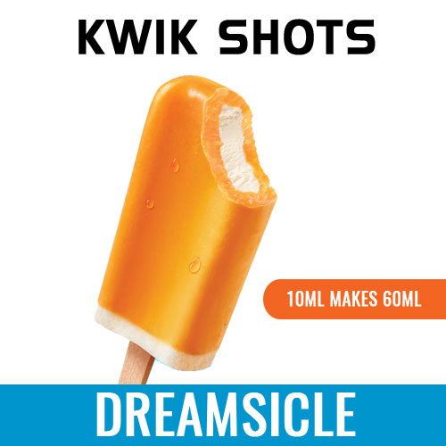 Kwik Shots - Orange-Dreamsicle - One shot Flavour Concentrates | South Africa