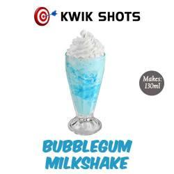 Kwik Shots - Bubblegum Milkshake- One shot Flavour Concentrates | South Africa