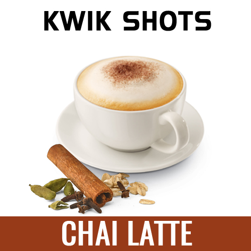 Kwik Shots -Chai-Latte-One Shot Flavours Concentrates | South Africa