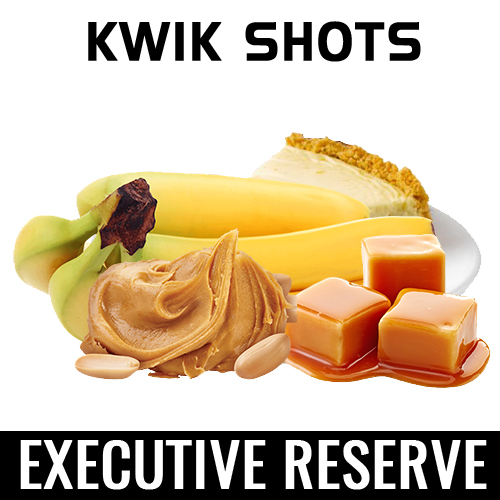 Kwik Shots | Executive-Reserve | One Shot Flavour Concentrates | South Africa