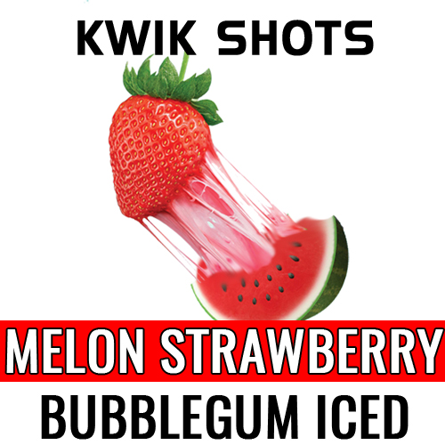 Kwik Shots - Melon-Strawb-Gum-Iced - One shot Flavour Concentrates | South Africa