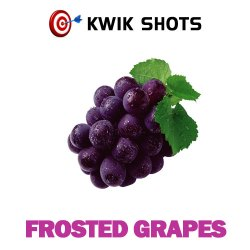 Kwik Shots - Frosted Grapes- One shot Flavour Concentrates   South Africa
