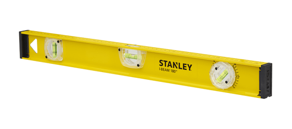 STANLEY I-BEAM 180 Αλφάδι Αλουμινίου Βαρέος Τύπου 60cm με 3 μάτια