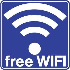 ERGO ΠΙΝΑΚΙΔΑ ΣΗΜΑΝΣΗΣ ''FREE WiFi''