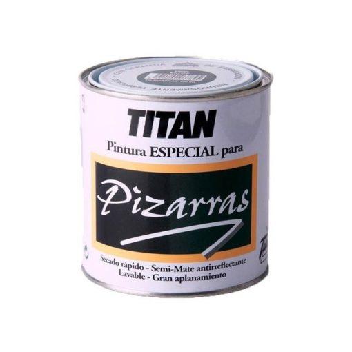 TITAN PIZARRAS ΧΡΩΜΑ ΠΙΝΑΚΩΝ ΜΑΥΡΟ 0.75Lt
