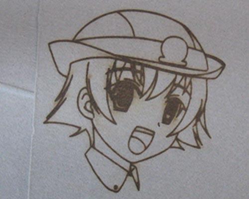 アニメのキャラクターです。