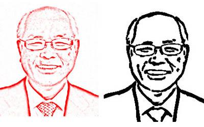 顔の画像1