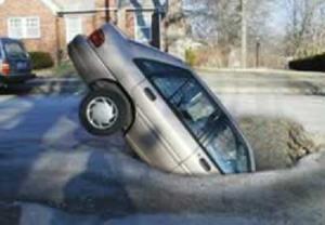 How to Avoid Michigan potholes