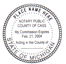 Michigan notary bond
