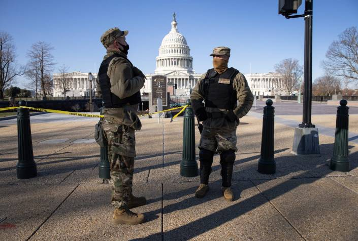 EP 2293-9AM GREAT NEWS! U.S. MILITARY BLOCKED LEFT's INSURRECTION & PROTECTED PROTESTORS