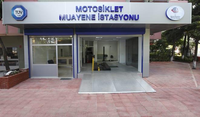 Motosikletlere özel muayene
