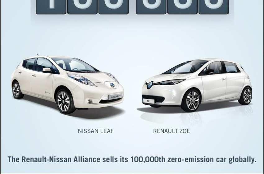 Renault-Nissan İttifakı'ndan 100.000. sıfır salımlı araç