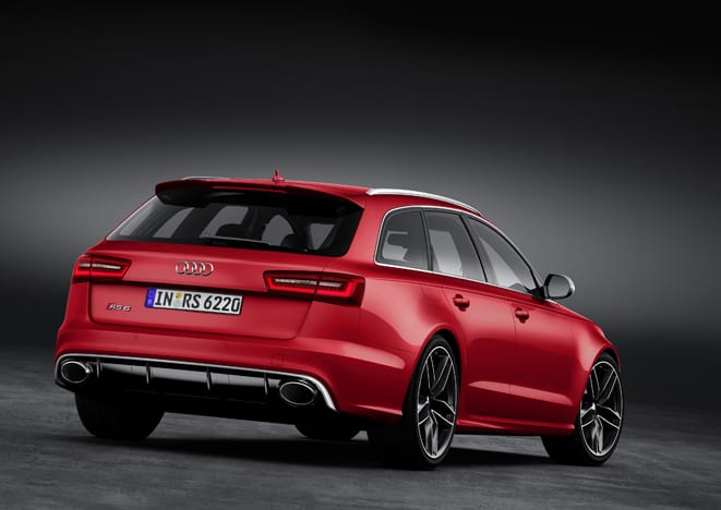 Ve işte yeni Audi RS6 Avant