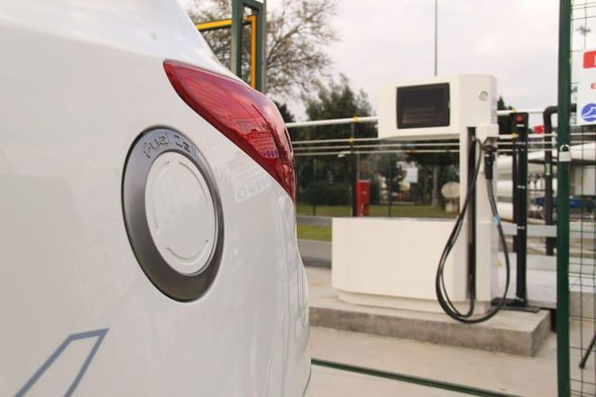 Hidrojen yakıt hücreli Hyundai, İstanbul'da depoyu fulledi!