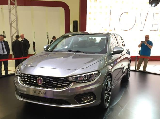 Fiat Aegea Kasım ayında piyasada
