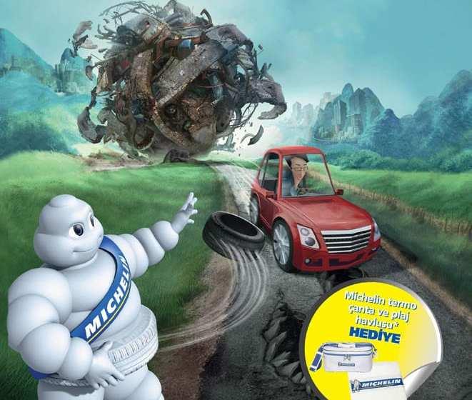 Michelin ile daha fazla yol