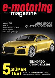 e-motoring magazine yayında!